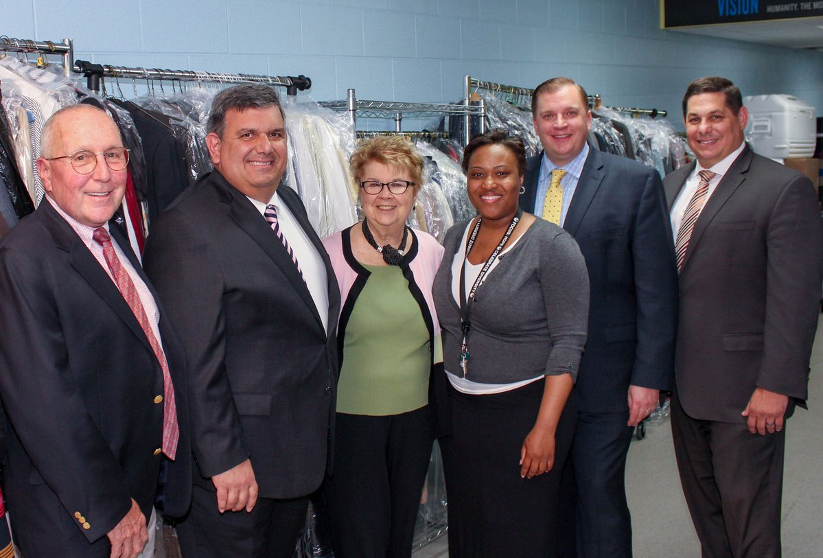 Detroit Athletic Club Donates Executive Clothing to Focus: HOPE