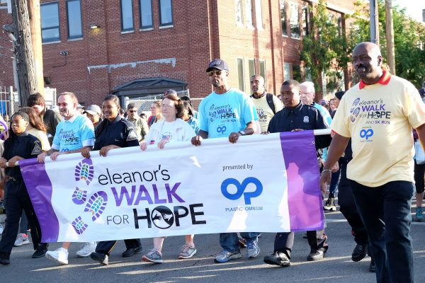 during the Focus Hope walk Sunday Oct. 8, 2017.  Photos by Charlotte Massey