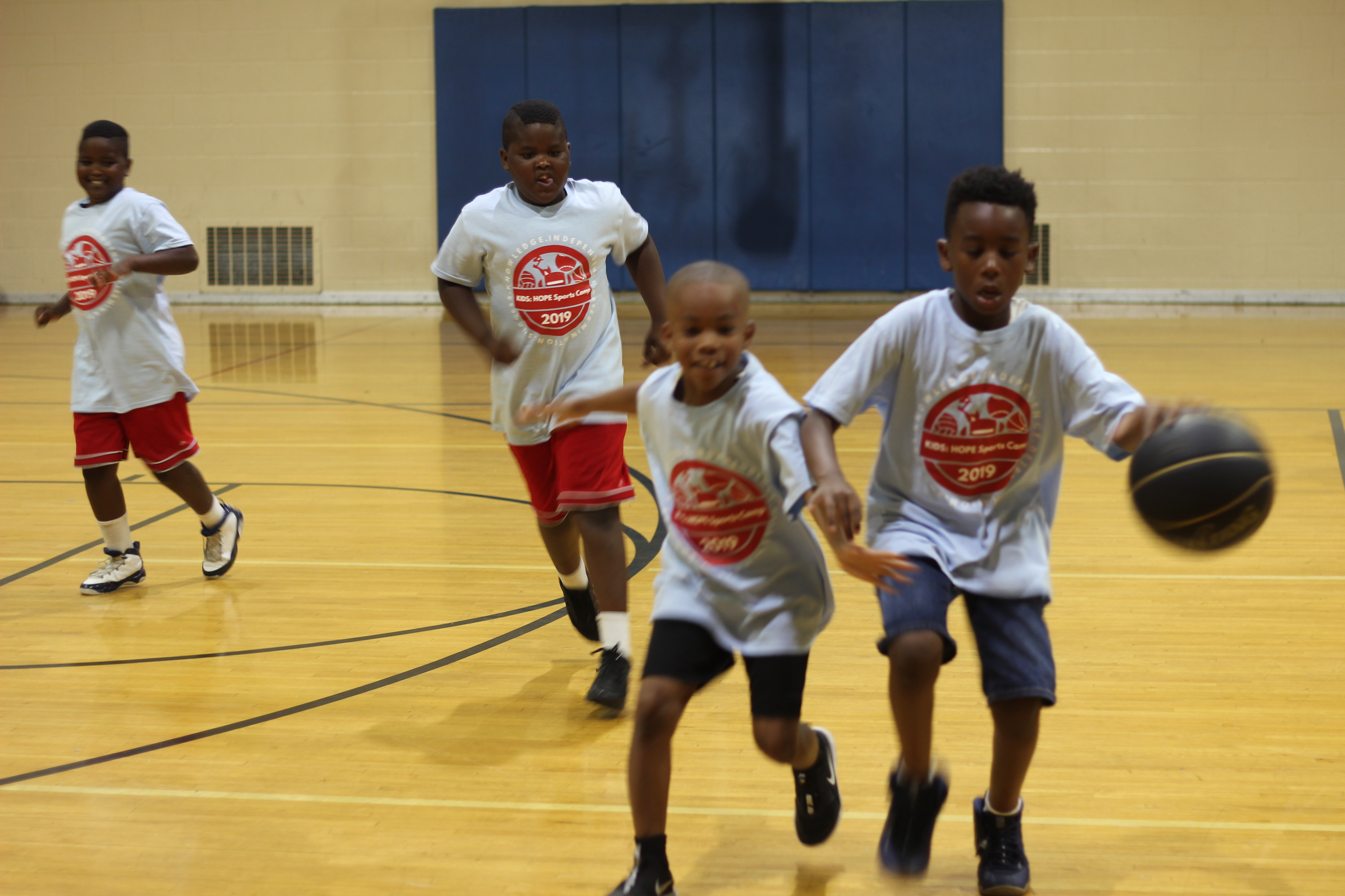 Focus: HOPE Celebrates Kids: HOPE Summer Basketball Camp